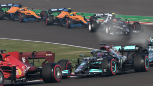 F1 2021 im Test: Raserei mit hohen FPS und optional Raytracing
