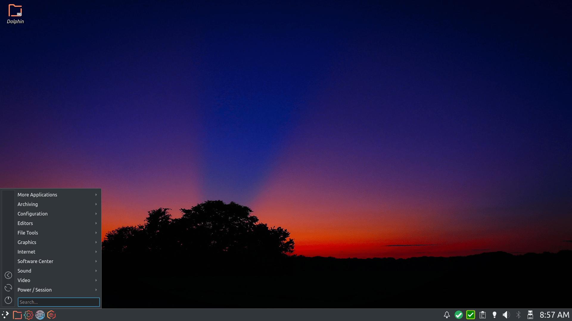 PCLinuxOS mit KDE Plasma