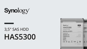 Synology HAS5300: Erste Enterprise-SAS-Festplatten für die eigenen NAS