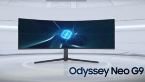 Teaser: Samsung Odyssey Neo G9 mit Mini-LED kommt Ende Juli