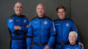 Blue Origin New Shepard: Der erste private Raumflug von Jeff Bezos im Live-Stream