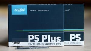 Crucial P5 Plus im Test: Mit PCIe-4.0-Debüt glückt der Anschluss an die SSD-Spitze