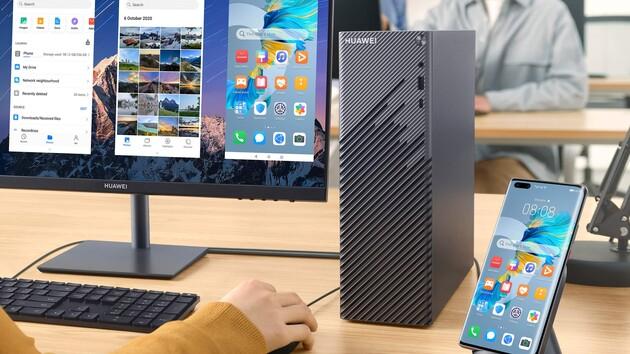 MateStation S: Huawei bringt Desktop-PC mit Ryzen 5 4600G für 600Euro