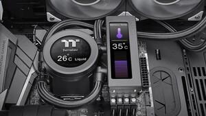 Thermaltake Floe RC Ultra: AiO-Kühlung für CPU und RAM mit Dual-Display