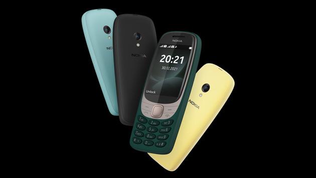 Nokia 6310: Handy-Klassiker kommt nach 20Jahren für 63,10Euro zurück