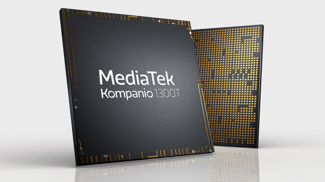 MediaTek Kompanio 1300T: Chromebook- und Tablet-SoC erhält schnellere GPU