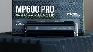 MP600 Pro: Corsairs schnellste SSD in Kürze mit 4 TB erhältlich