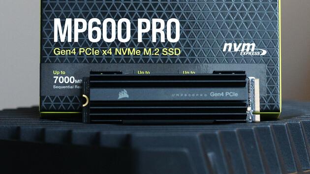 MP600 Pro: Corsairs schnellste SSD in Kürze mit 4 TB erhältlich [Notiz]