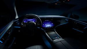 IAA: Mercedes EQE bekommt auch den MBUX Hyperscreen