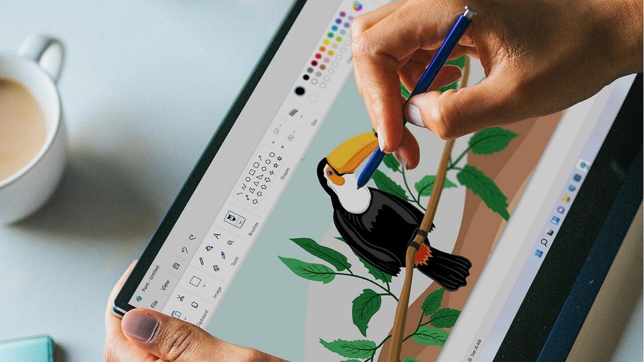 Apps für Windows 11: Paint und Fotos erhalten ein neues aufpoliertes Design