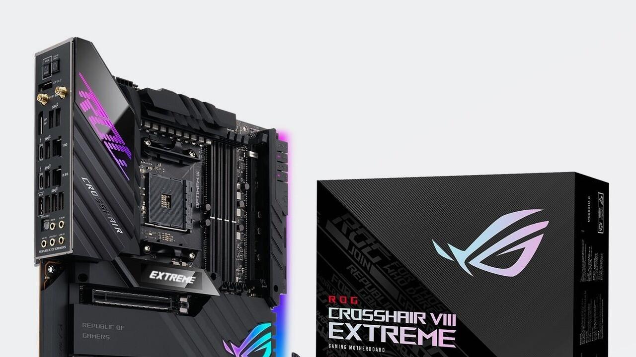 ROG Crosshair VIII Extreme: Asus' Extreme-Mainboard mit X570 für AMD-Ryzen