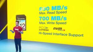 Neue Speicherprodukte: Adata bedient SD Express, DDR5 und PCIe 4.0