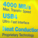 Adata SE920: Erste externe SSD mit USB4 soll 4.000 MB/s erreichen