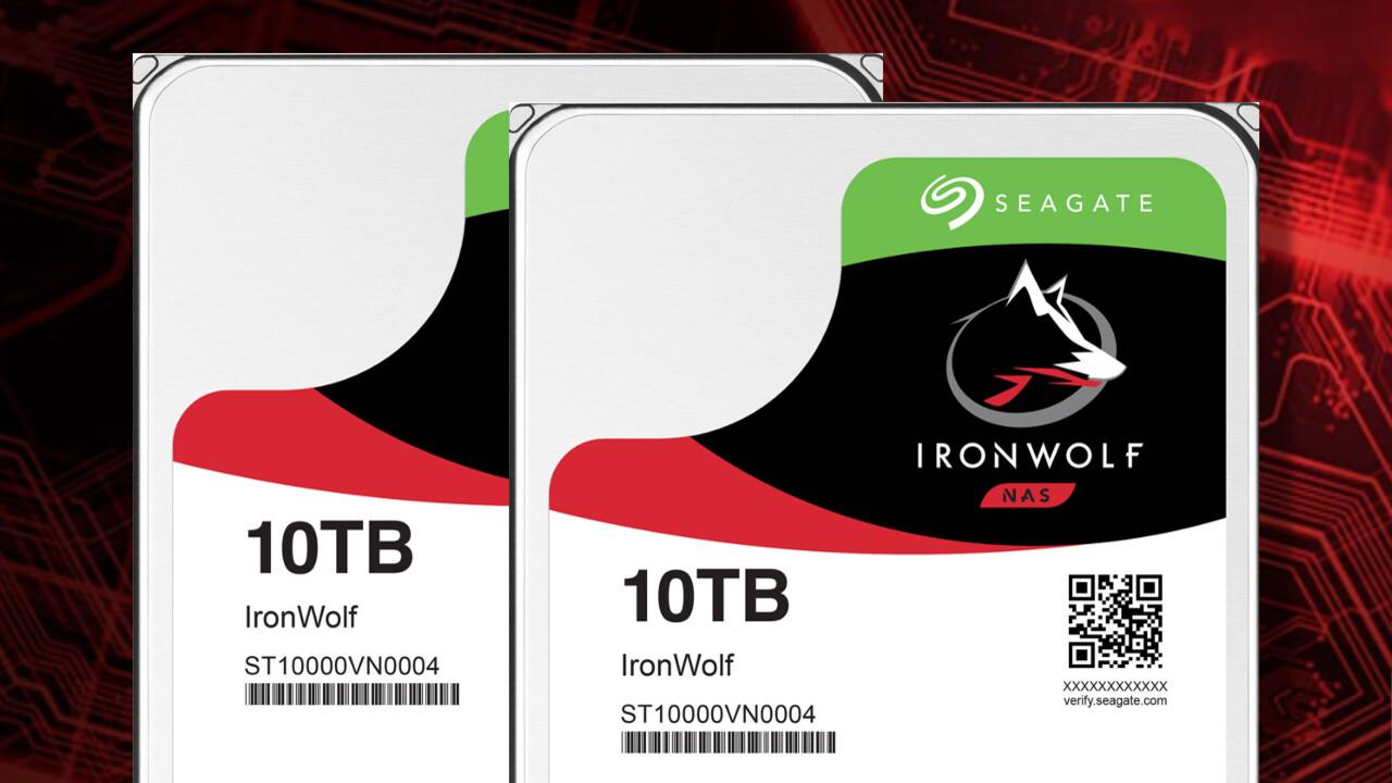 Seagate IronWolf HDD: 40 TB spezialisierter NAS-Speicherplatz zu gewinnen [Anzeige]