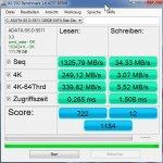 ADATA SSD 128GB toll lesen schlecht schreiben.....jpg