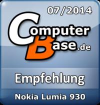 ComputerBase-Empfehlung für Nokia Lumia 930
