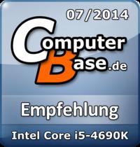 ComputerBase-Empfehlung für Intel Core i5-4690K