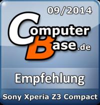 ComputerBase-Empfehlung für Sony Xperia Z3 Compact