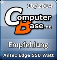ComputerBase-Empfehlung für Antec Edge 550 Watt