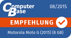 ComputerBase-Empfehlung für Motorola Moto G (2015) (8 GB)