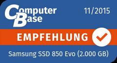 ComputerBase-Empfehlung für Samsung SSD 850 Evo (2.000 GB)