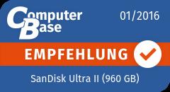 ComputerBase-Empfehlung für SanDisk Ultra II (960 GB)