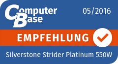 ComputerBase-Empfehlung für Silverstone Strider Platinum 550W