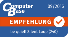 be quiet! Silent Loop im Test - Computerbase-Empfehlung