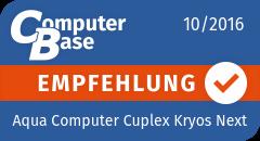 ComputerBase-Empfehlung für Aqua Computer Cuplex Kryos Next