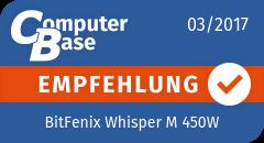 ComputerBase-Empfehlung für BitFenix Whisper M 450W