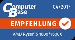 ComputerBase-Empfehlung für AMD Ryzen 5 1600/1600X