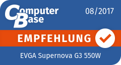 ComputerBase-Empfehlung für EVGA Supernova G3 550W