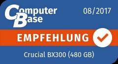 ComputerBase-Empfehlung für Crucial BX300 (480 GB)