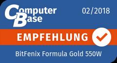ComputerBase-Empfehlung für BitFenix Formula Gold 550W