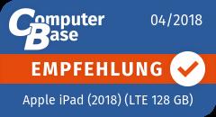 ComputerBase-Empfehlung für Apple iPad (2018) (LTE 128 GB)