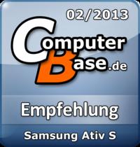 ComputerBase-Empfehlung für Samsung Ativ S