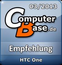 ComputerBase-Empfehlung für HTC One