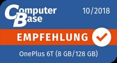 ComputerBase-Empfehlung für OnePlus 6T (8 GB/128 GB)