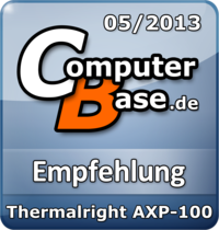 ComputerBase-Empfehlung für Thermalright AXP-100