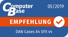 ComputerBase-Empfehlung für DAN Cases A4 SFX v4