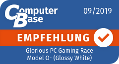 ComputerBase-Empfehlung für Glorious PC Gaming Race Model O- (Glossy White)