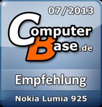 ComputerBase-Empfehlung für Nokia Lumia 925