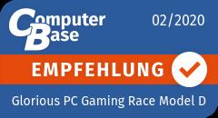 ComputerBase-Empfehlung für Glorious PC Gaming Race Model D (Matte Black)