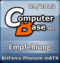 ComputerBase-Empfehlung für BitFenix Phenom mATX