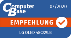 ComputerBase-Empfehlung für LG OLED 48CX9LB