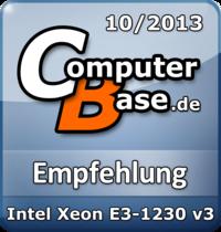 ComputerBase-Empfehlung für Intel Xeon E3-1230 v3