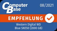 ComputerBase-Empfehlung für Western Digital WD Blue SN550 (2000 GB)