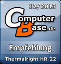 ComputerBase-Empfehlung für Thermalright HR-22