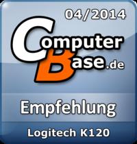 ComputerBase-Empfehlung für Logitech K120