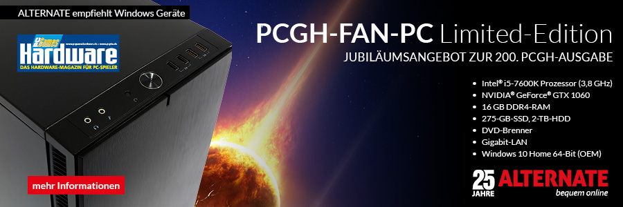 PCGH-Fan-PC Limited Edition